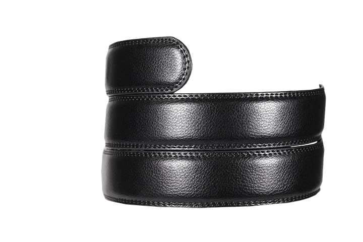 Black Leather Strap - Tough Tie