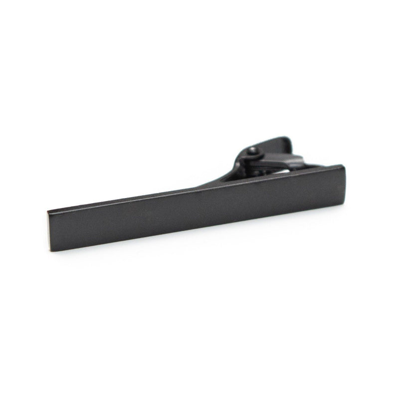 Matte Black Tie Bar - Tough Tie