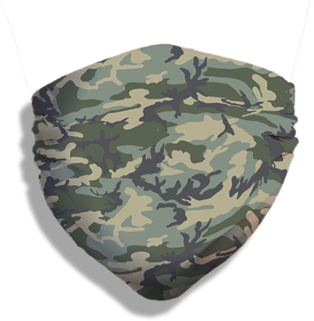Caliber Camo Mask (washable and moisture barrier)