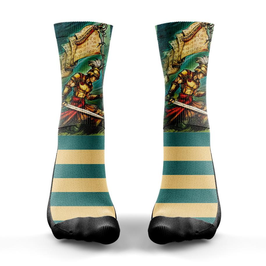 Captain Moroni Sock