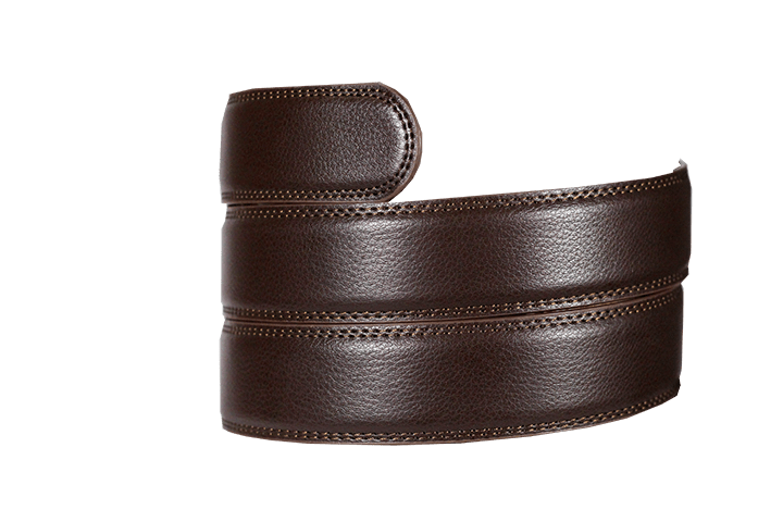 Dark Brown Leather Strap - Tough Tie