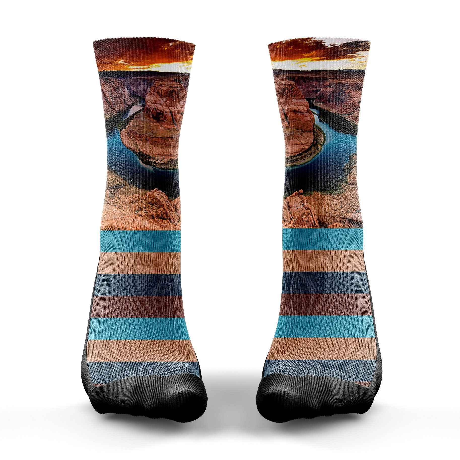Horseshoe Bend Sock