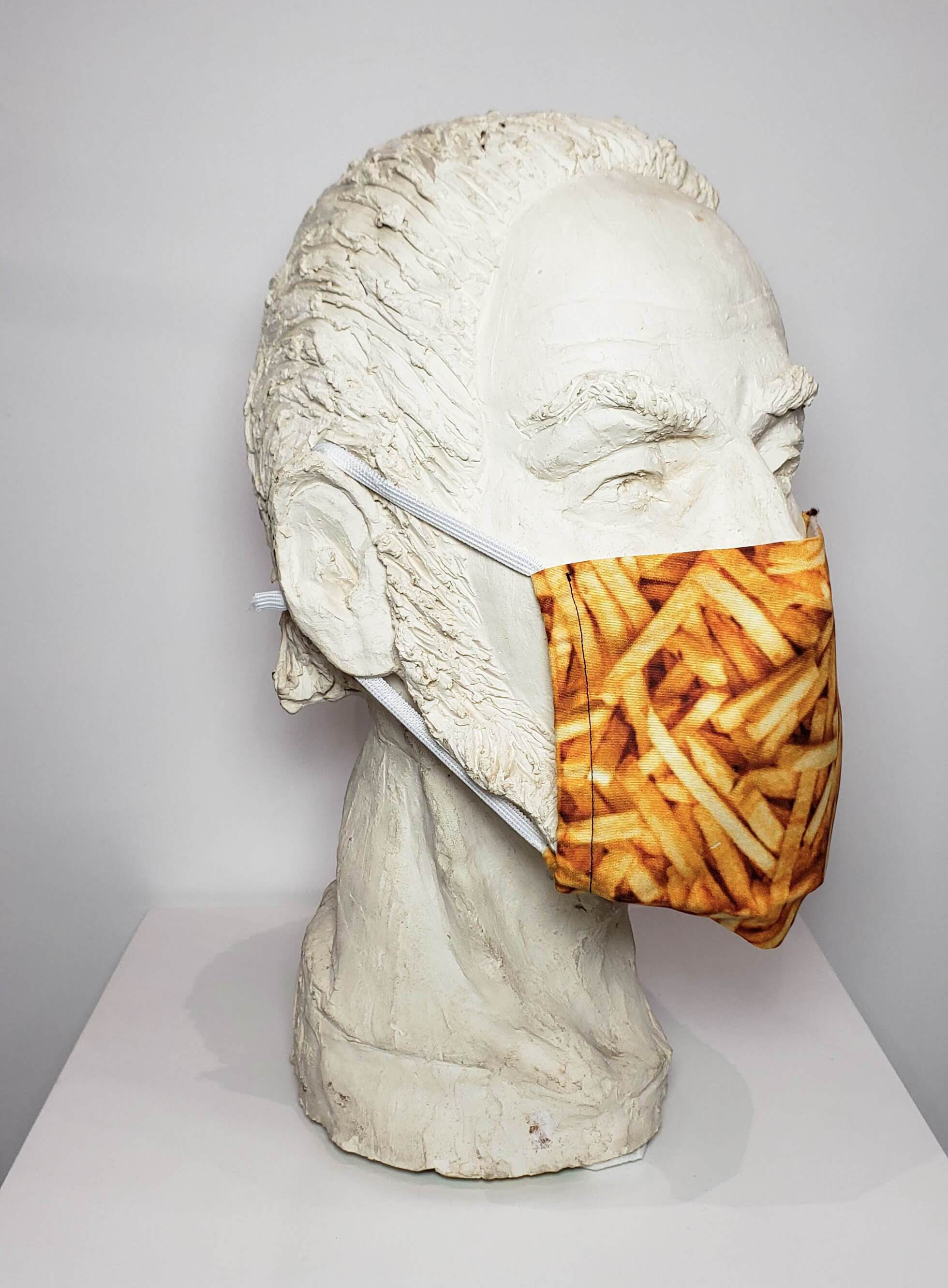 Fry Face Mask (washable and moisture barrier)