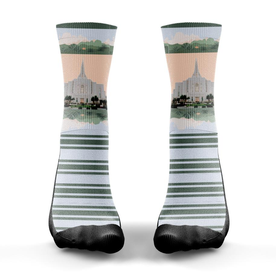 Gilbert Temple Sock