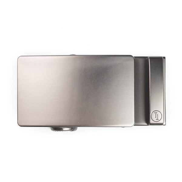 Gun Metal Buckle - Tough Tie