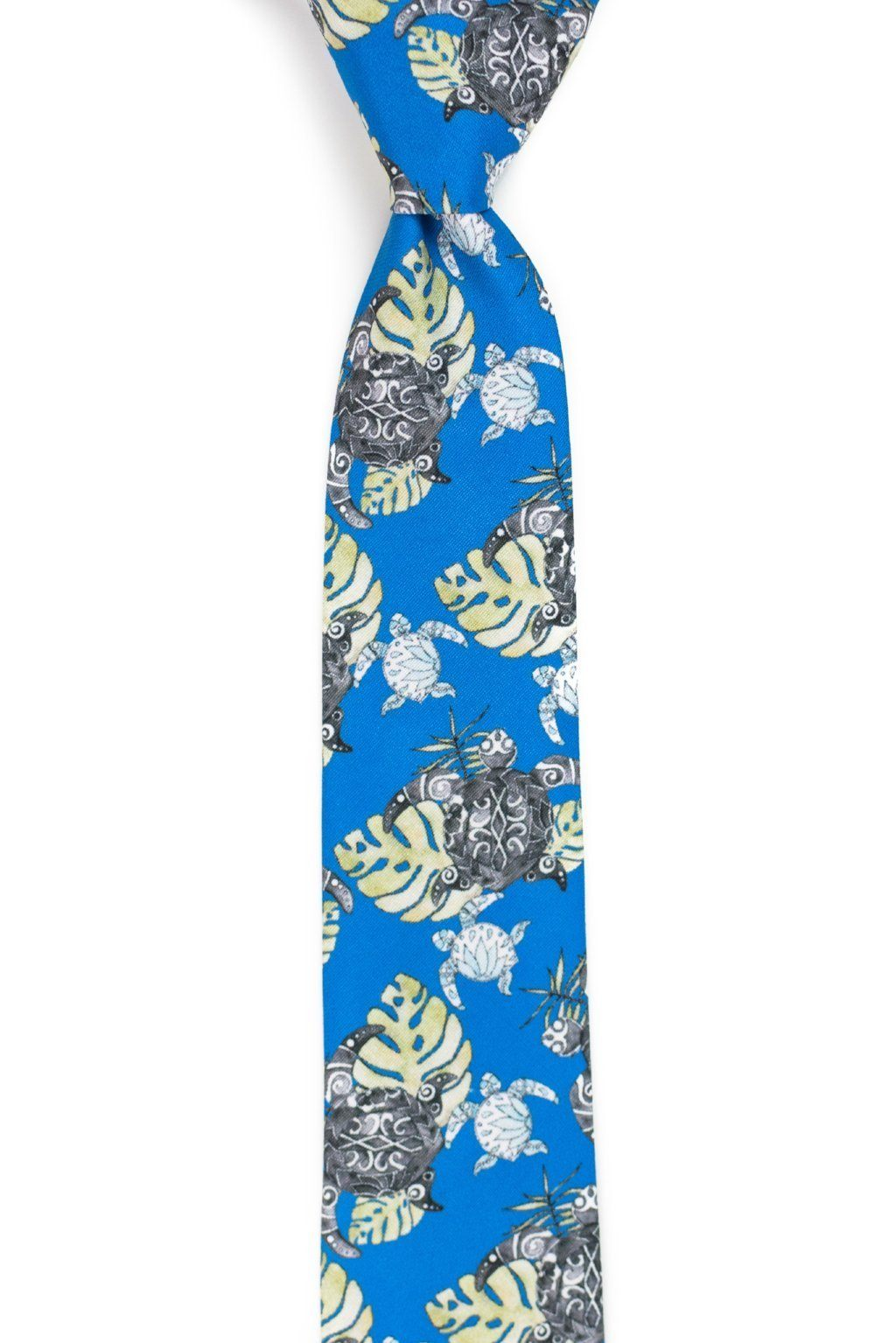 Hanalei - Royal Blue Turtle Tie