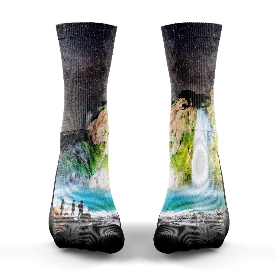 Havasu Waterfall Sock