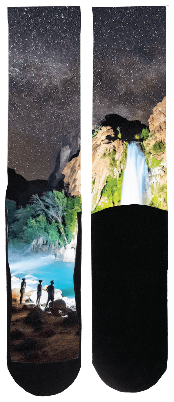 Havasu Waterfall Sock - Tough Tie