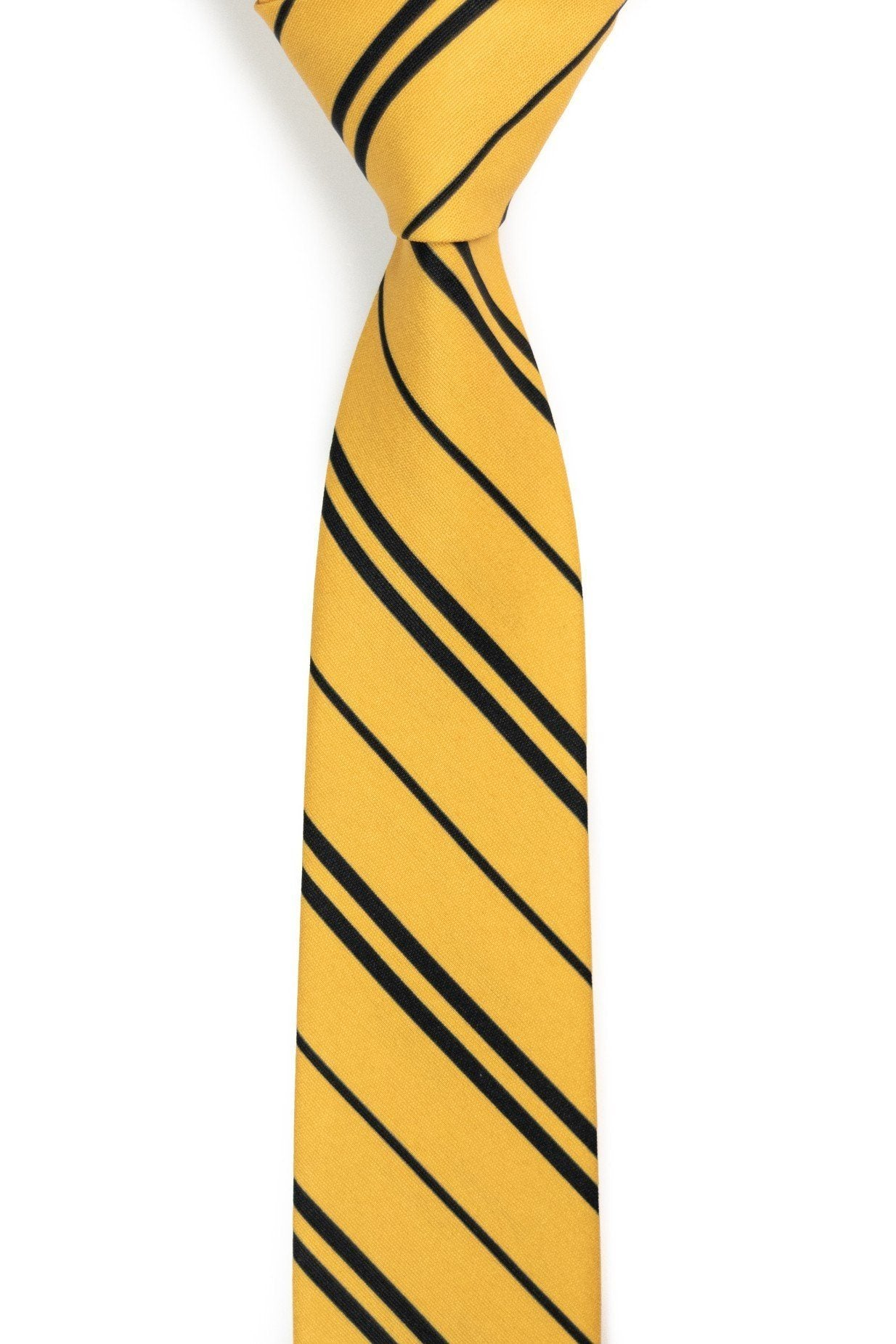 Huffle's Puff - Black and Yellow Tie