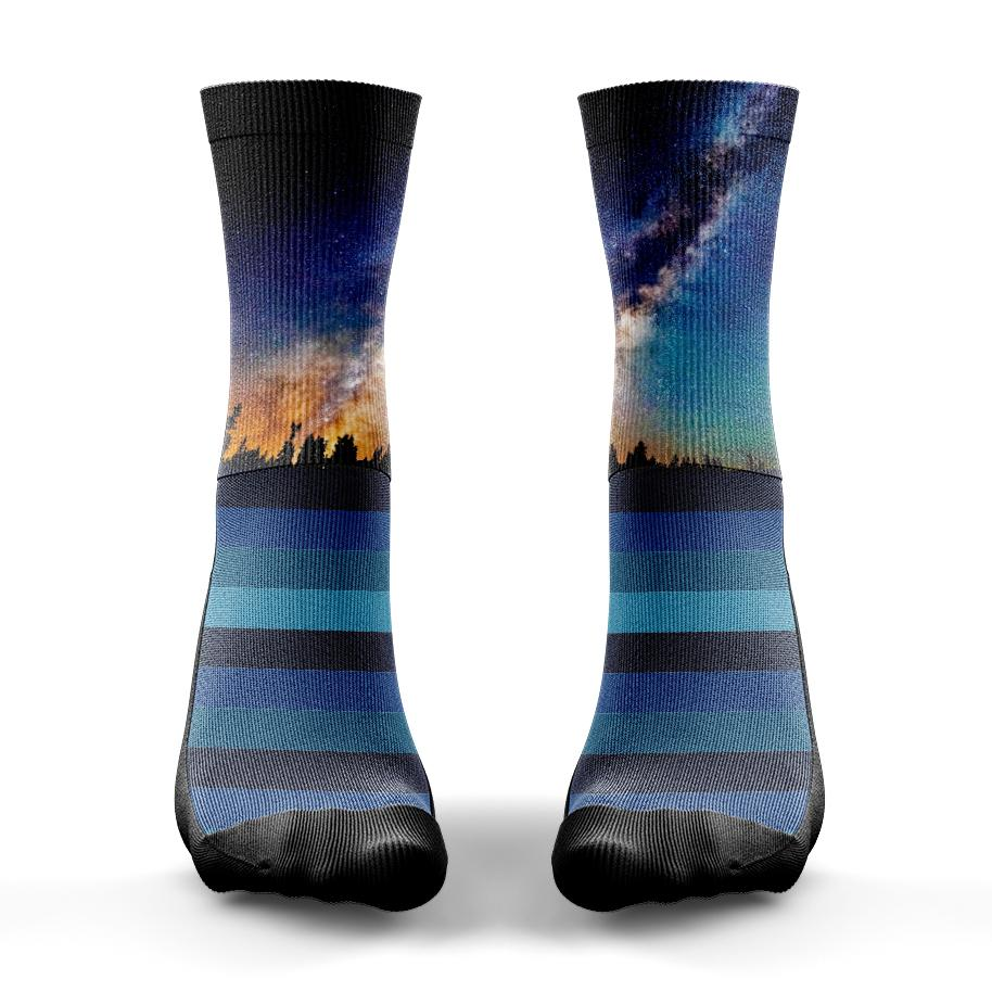 Milky Way Space Sock