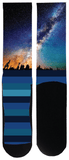 Milky Way Space Sock - Tough Tie