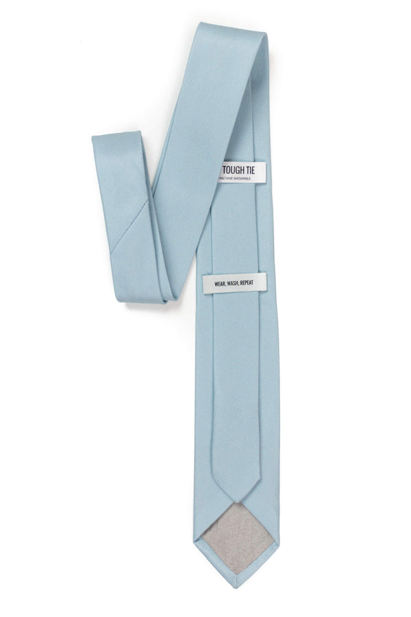 back view of dusty mint tie by tough apparel