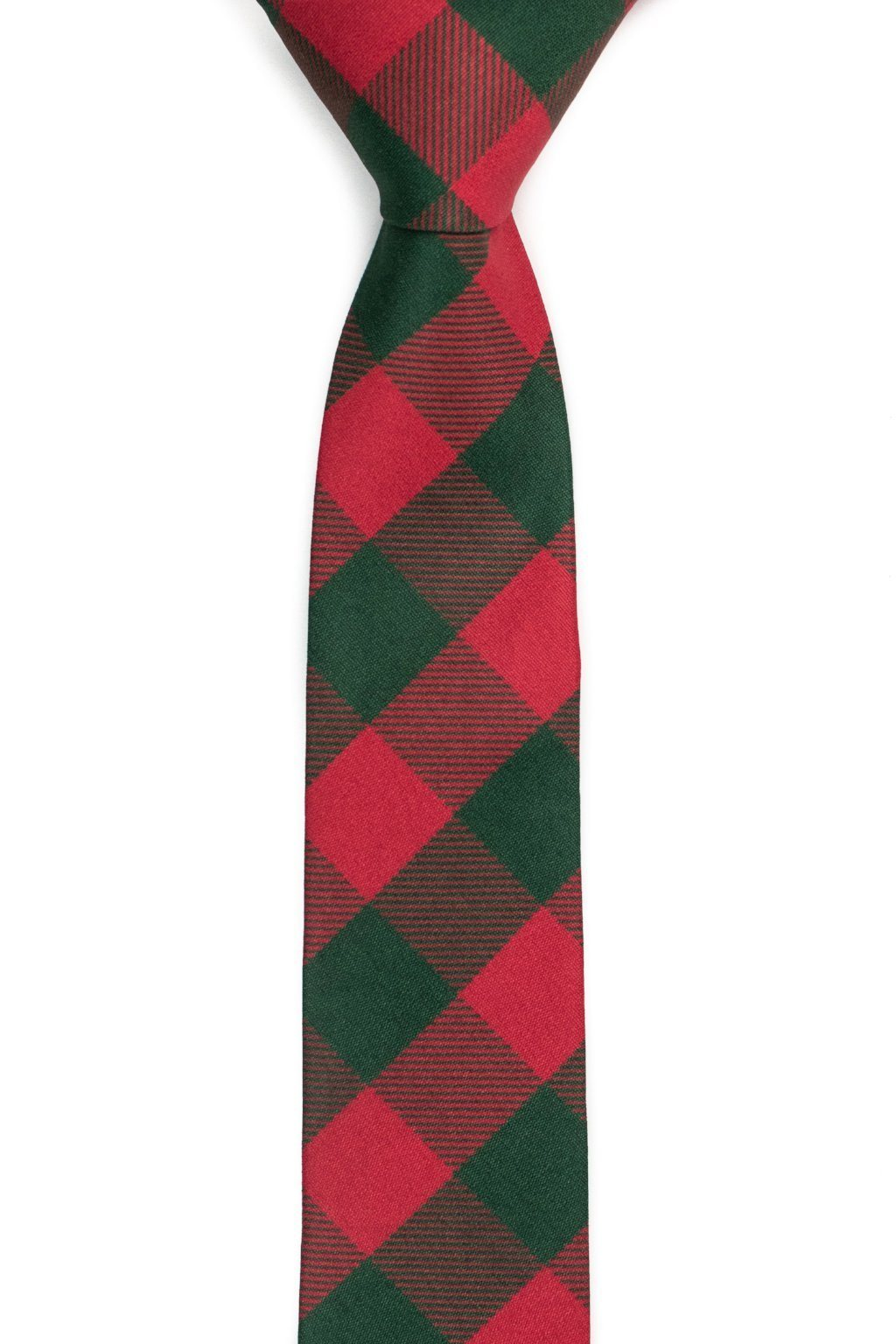 Piper Sparklecake - Green & Red Checkered Tie