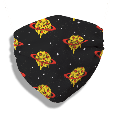 Pizza Planet Mask (washable and moisture barrier)