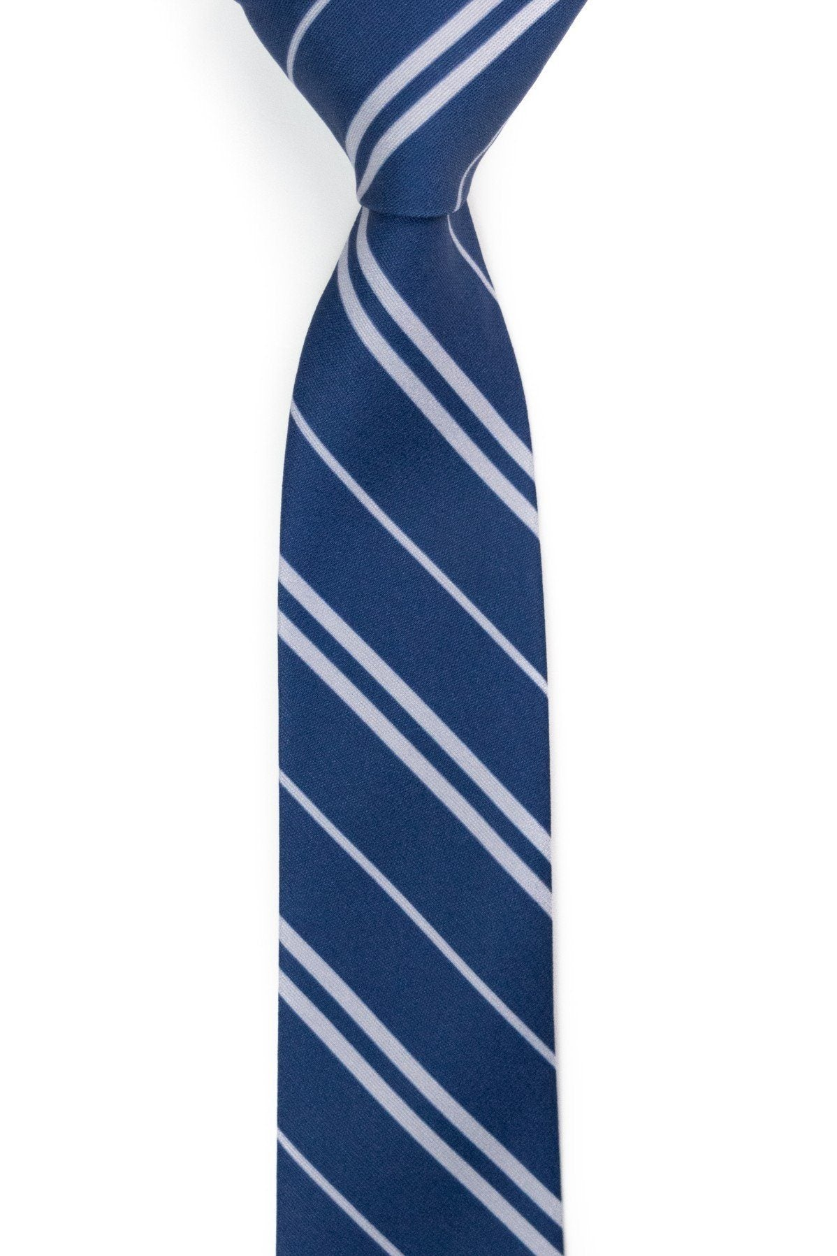Raven's Claw - Navy Striped Tie