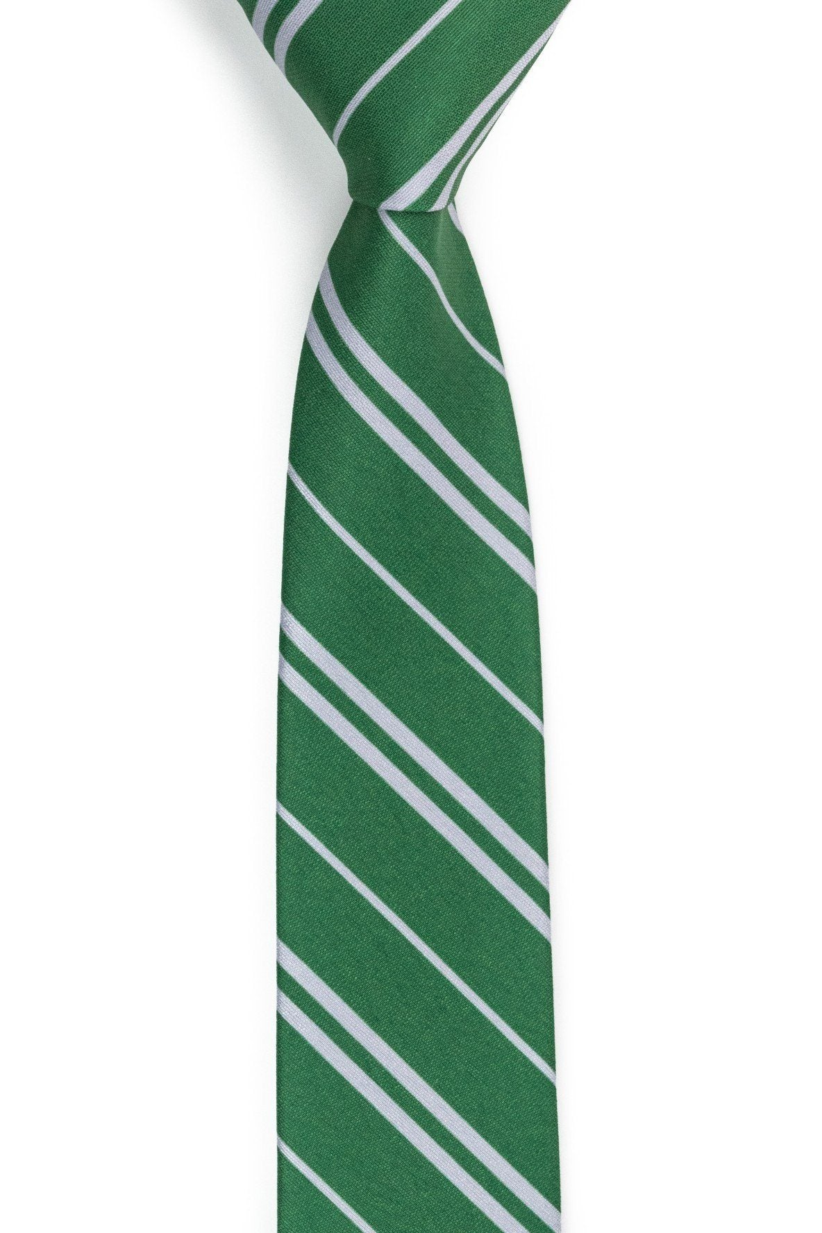 Slyther's Inn - Green Striped Tie