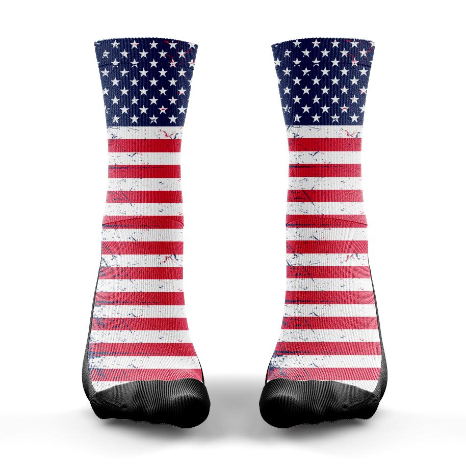 Tattered Flag Sock