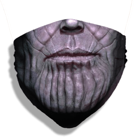 The Mad Titan Mask (washable and moisture barrier)