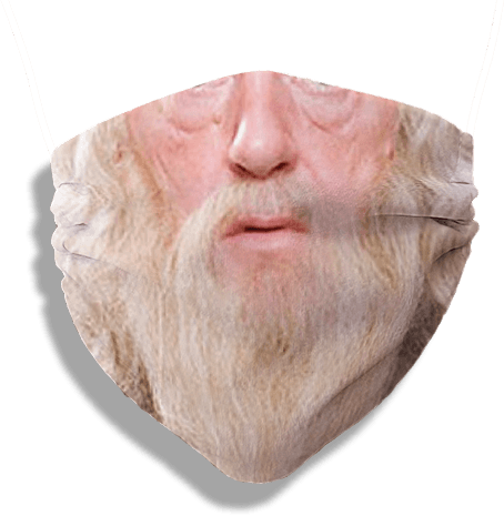 The Dumble Mask (washable and moisture barrier)