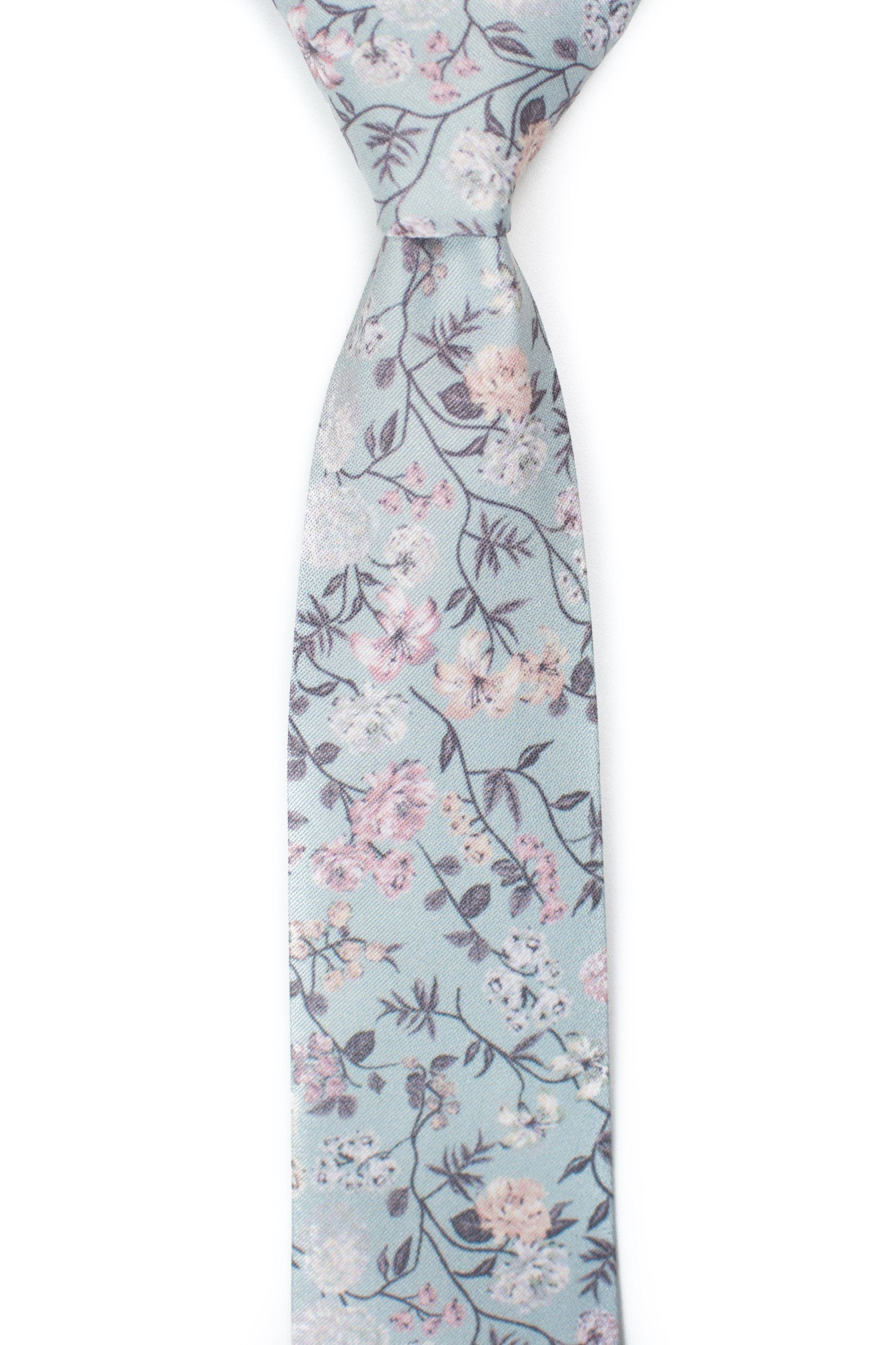 Jones  - Mint Floral Tie