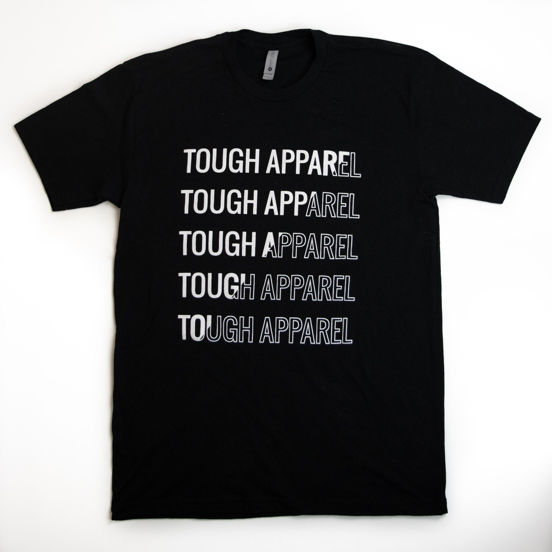 Tough Apparel Black Tee Shirt - Tough Tie