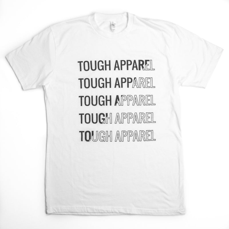 Tough Apparel White Tee Shirt - Tough Tie