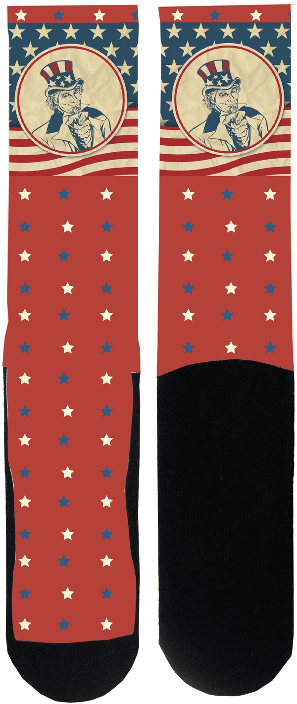 Uncle Sam Sock - Tough Tie