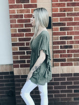 Wild + Free Ruffled Top