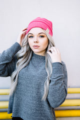365 Classic CC Beanie - New Candy Pink
