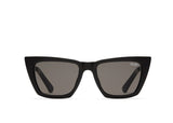 Quay Sunglasses - Don't @ Me Black/Smoke