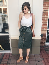 Newport Living Army Skirt