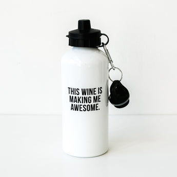 This Wine Water Bottle