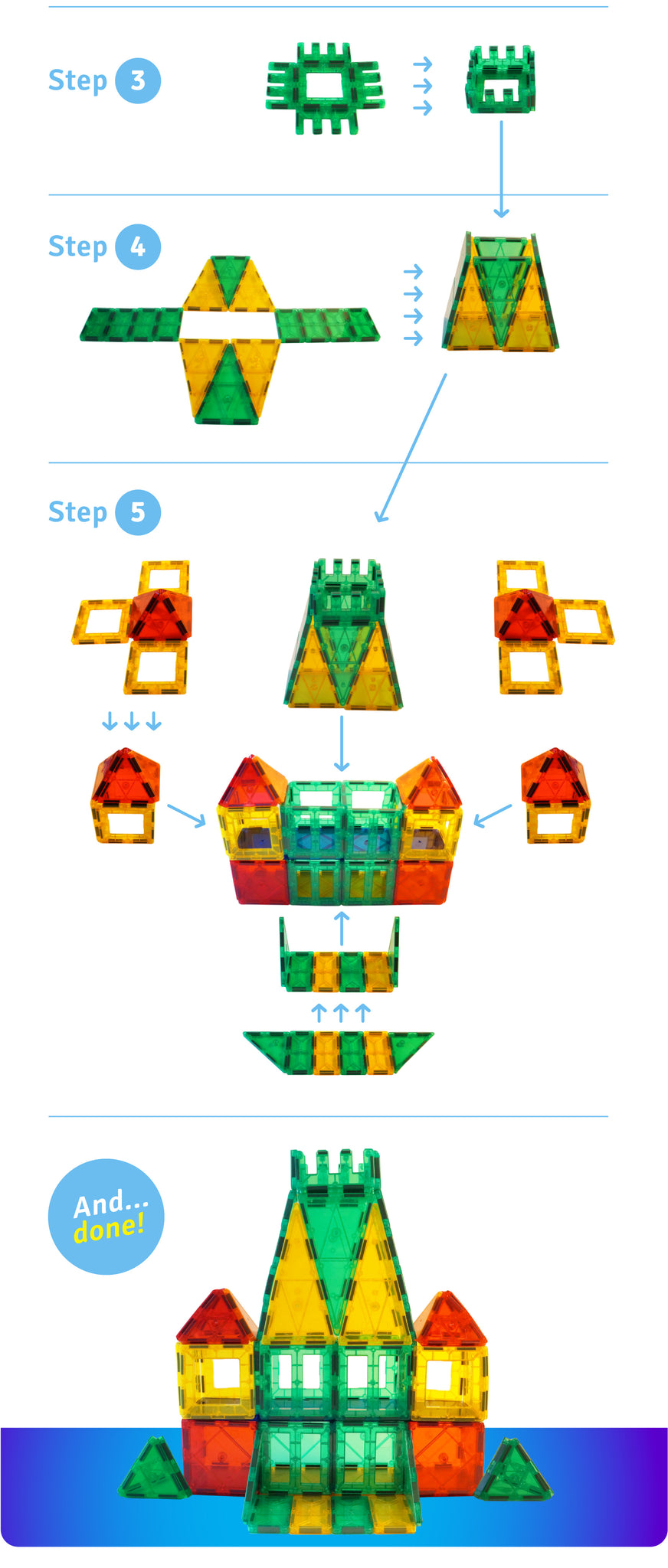 Guide: How to build a castle!