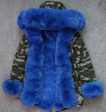 Fox Fur Camo Parka