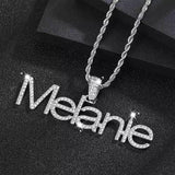 Custom Name Tennis Necklace