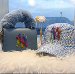 Bling Baseball Hat & Bag Set