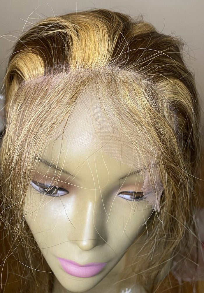 "20"" Indian Remy HD Lace wig"