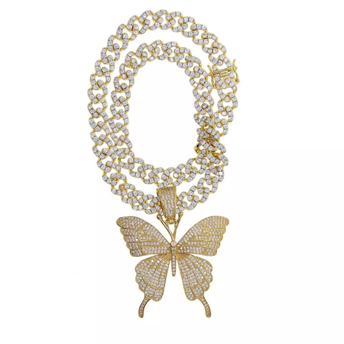 Cuban Butterfly Necklace