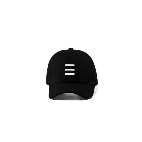 White Stripe 5-Panel Hat + Digital Album