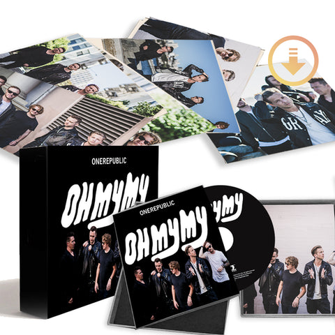 Limited Edition Signed CD Box Set + Digital Album