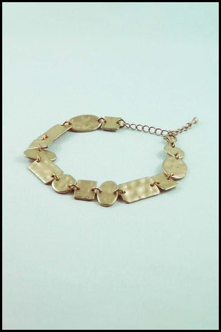 Hammered  Metal Bracelet