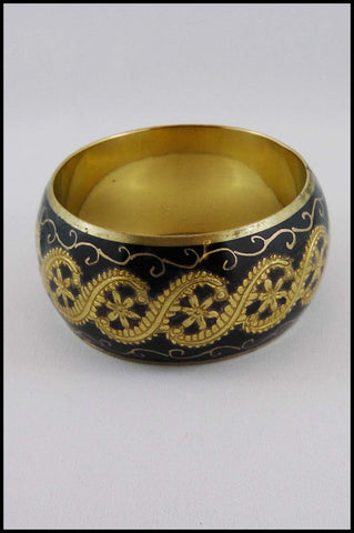 Hand Painted Metal Bangle