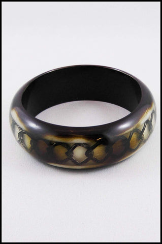 Embedded Chain Bangle