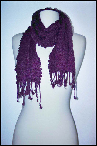 Textured Crinkle Scarf