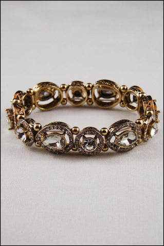 Victorian Bridal Stretch Bracelet
