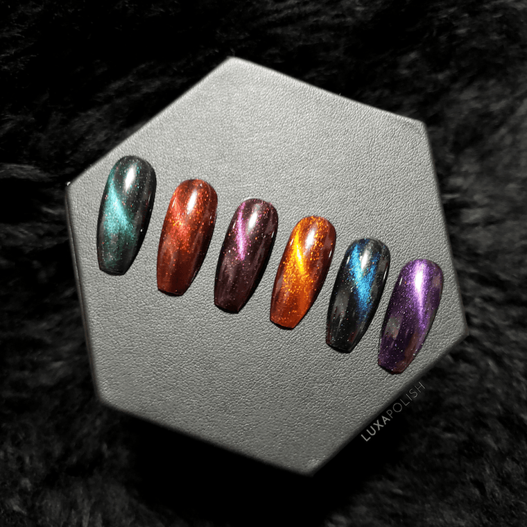 CATS EYE PIGMENT SET (6) - LIMITED EDITION