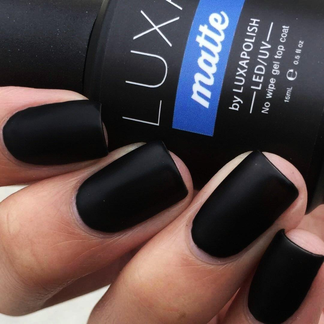 Luxa MATTE - No Wipe Gel Top Coat – LUXAPOLISH