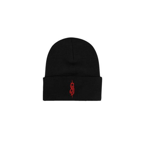 Red Tribal S Beanie