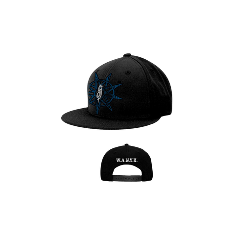 Blue 9 Point Star Hat