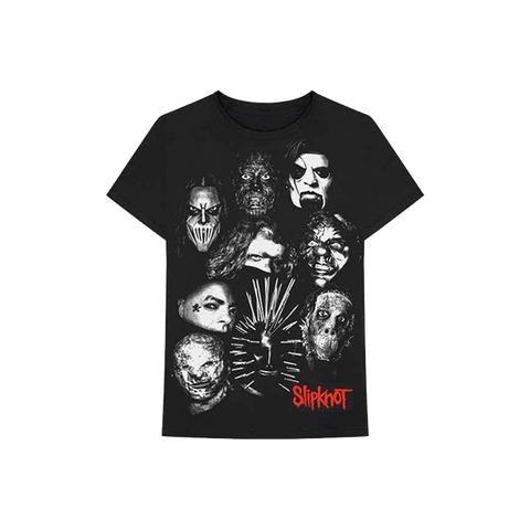 Slipknot Faces Tee